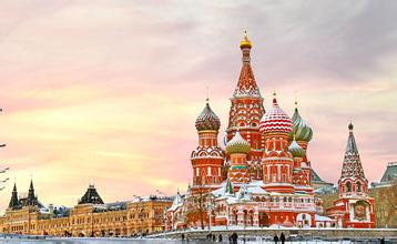 【俄罗斯】俄罗斯莫斯科+圣彼得堡深度8日游